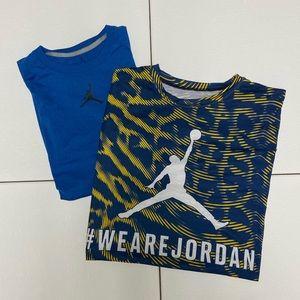 2 Jordan Brand Athletic shirts